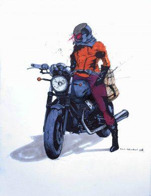Motorlu Kız