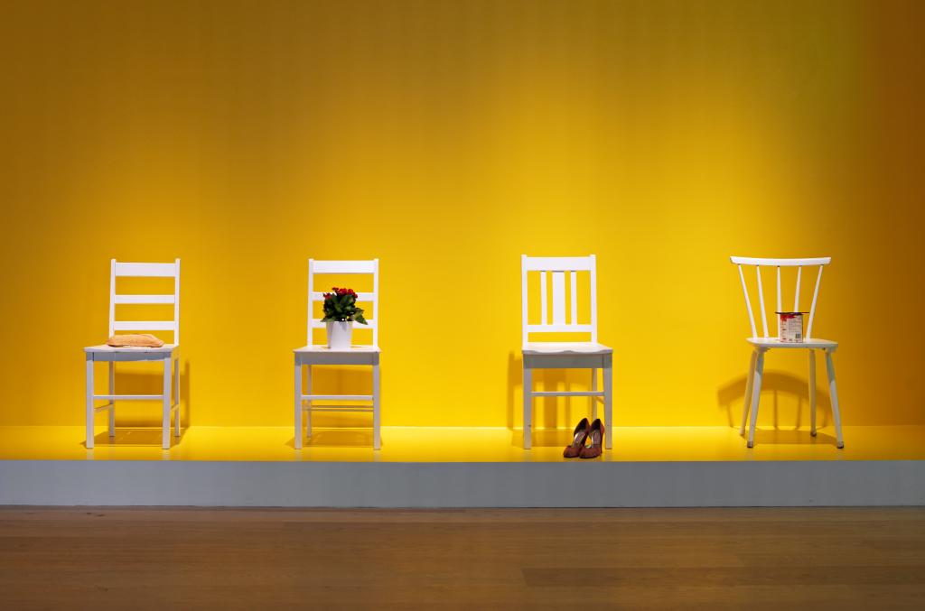 George Brecht, Sandalye Olayları / Fotoğraf: Hadiye Cangökçe