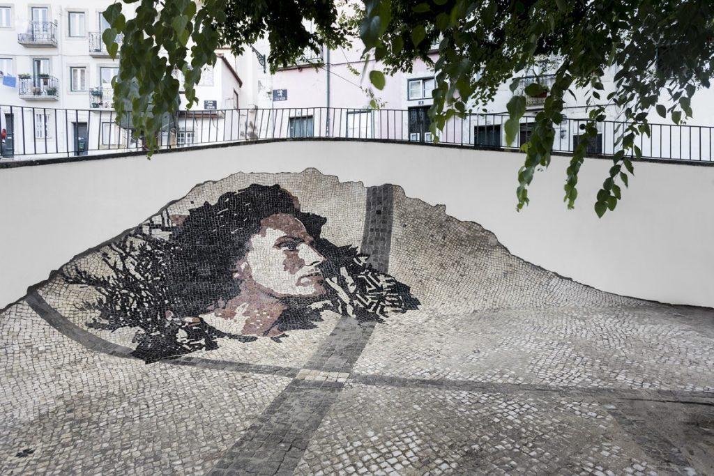 Calçada (Portrait of Amália Rodrigues), 2015. Fotoğraf: Bruno Lopes